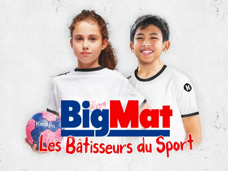Première édition des Bâtisseurs du Sport : les jeux sont faits pour la sélection BigMat France 2019 !