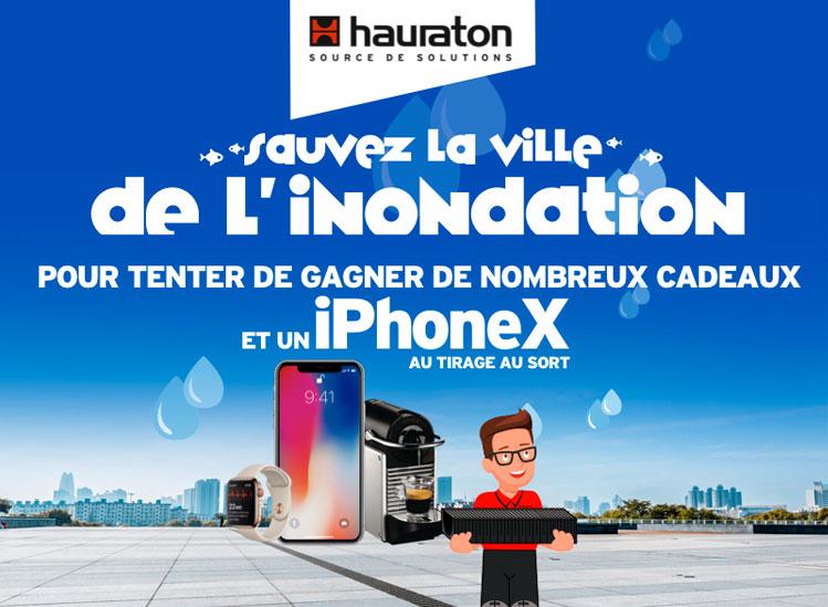 Participez au GRAND JEU-CONCOURS Hauraton ! - Batiweb
