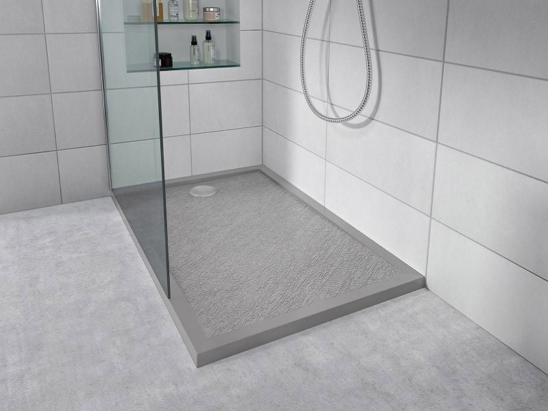 Salle de bains : La nouvelle gamme de receveurs en Mineral Composite ATENA par CAREA® : plus légers et plus économiques - Batiweb