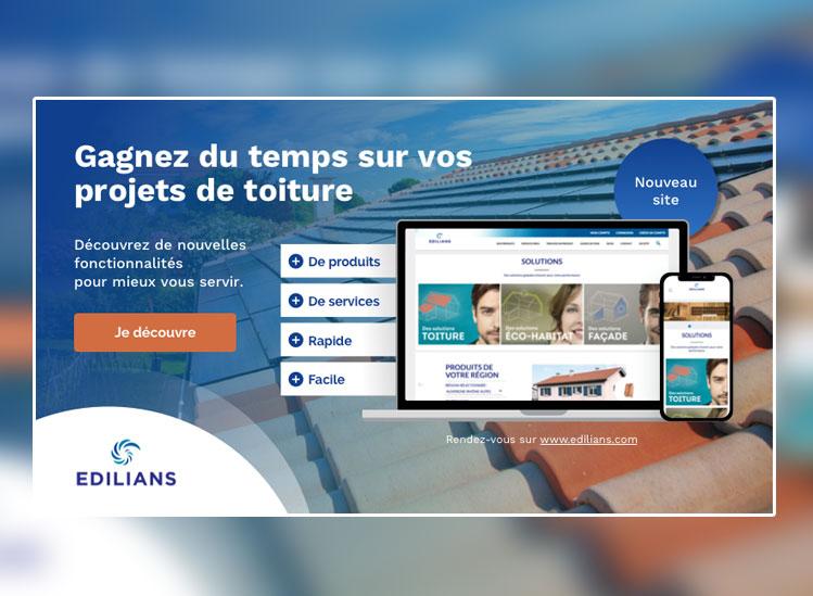 Edilians.com fait peau neuve, Le site qui vous accompagne au quotidien