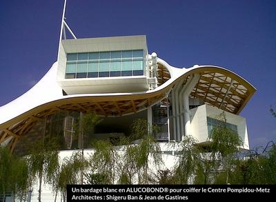 1969-2019 : la marque architecture ALUCOBOND® fête ses 50 ans ! RDV au salon Architect@Work / stand N° 214 Batiweb