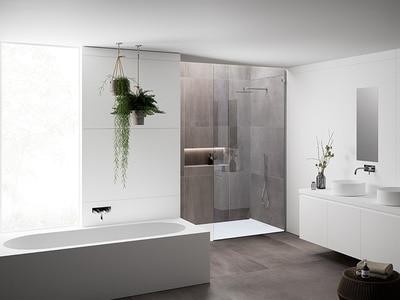 La nouvelle collection de baignoires et de receveurs de douche HI-MACS® Batiweb