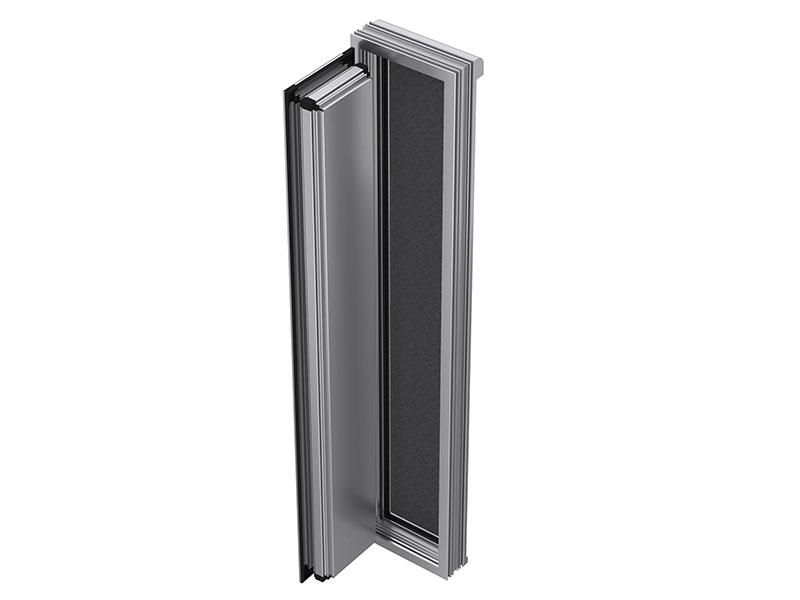 Système de menuiserie inédit WICONA de purification et renouvellement d'air intérieur - Batiweb
