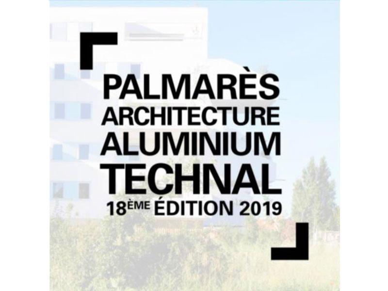 Palmarès Architecture Aluminium Technal - 18ème édition 2019