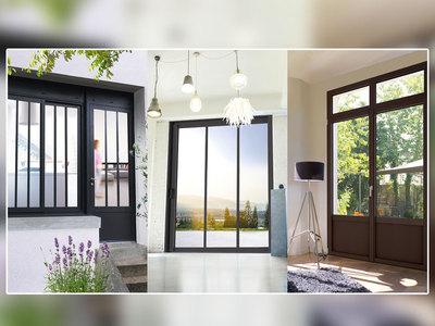 Fenêtres Aluminium Style Atelier Batiweb