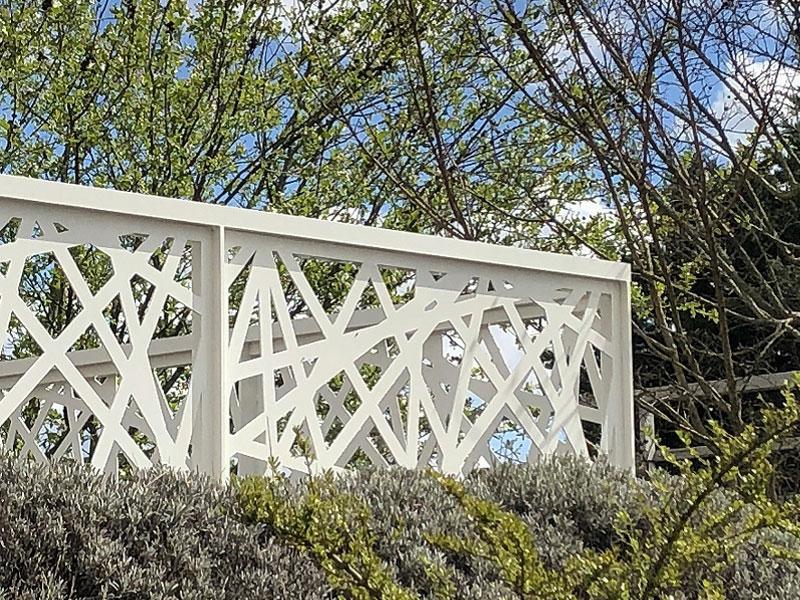 Dani Alu - Système de garde-corps en aluminium, au design acier, pour balcon et toiture-terrasse