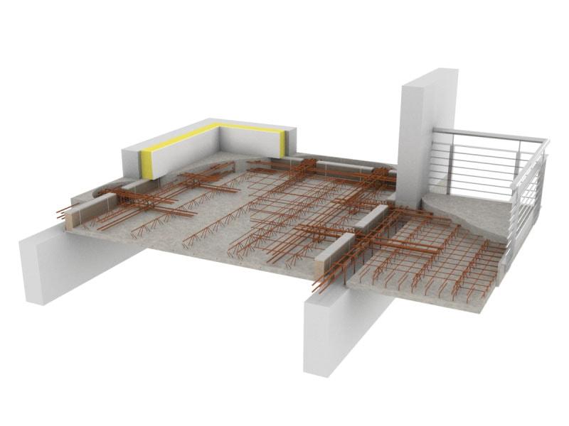 Nouvelle ThermoPrédalle® BA 0,45, pour des bâtiments sains et durables