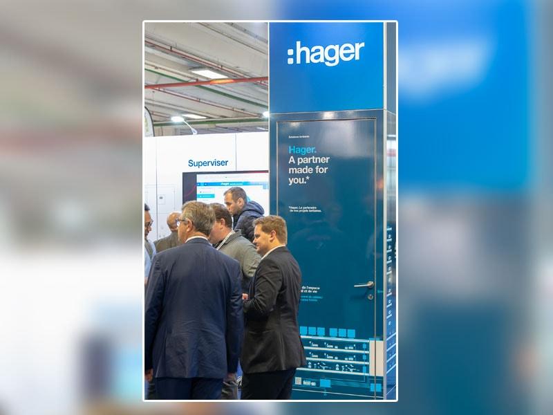 Salon IBS 2019 - Hager enrichit son offre pour le smart building - Batiweb