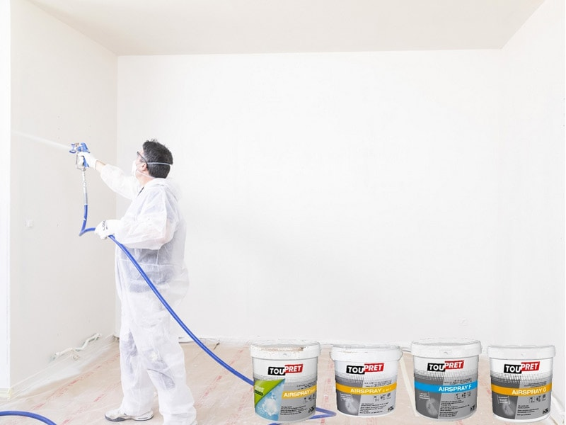 TOUPRET AIRSPRAY : une gamme complète pour vos chantiers Airless