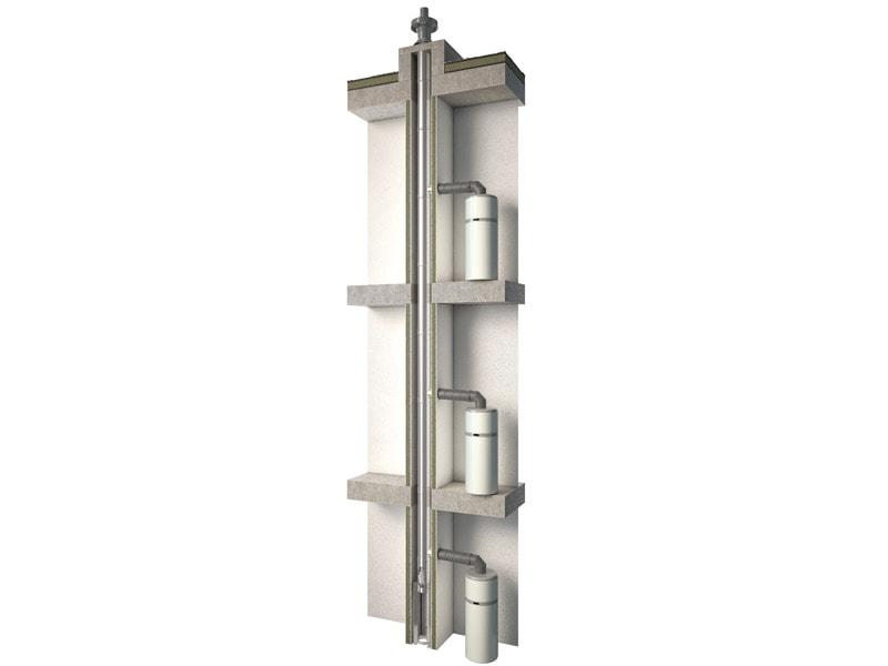UBBINK rend possible le raccordement des chauffe-eaux thermodynamiques dans le logement collectif avec son système AESTUS 3CET