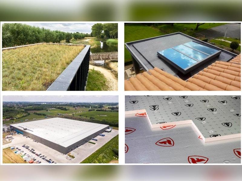 Firestone propose tous les composants d'une toiture terrasse performante et durable
