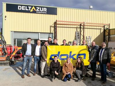 DOKA France s'associe avec DELTAZUR Équipements pour un partenariat commercial sur la région PACA Batiweb