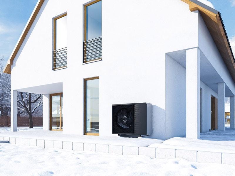PAC Daikin Altherma 3H HT Haute Température 70°C : un confort acoustique optimal ! - Batiweb