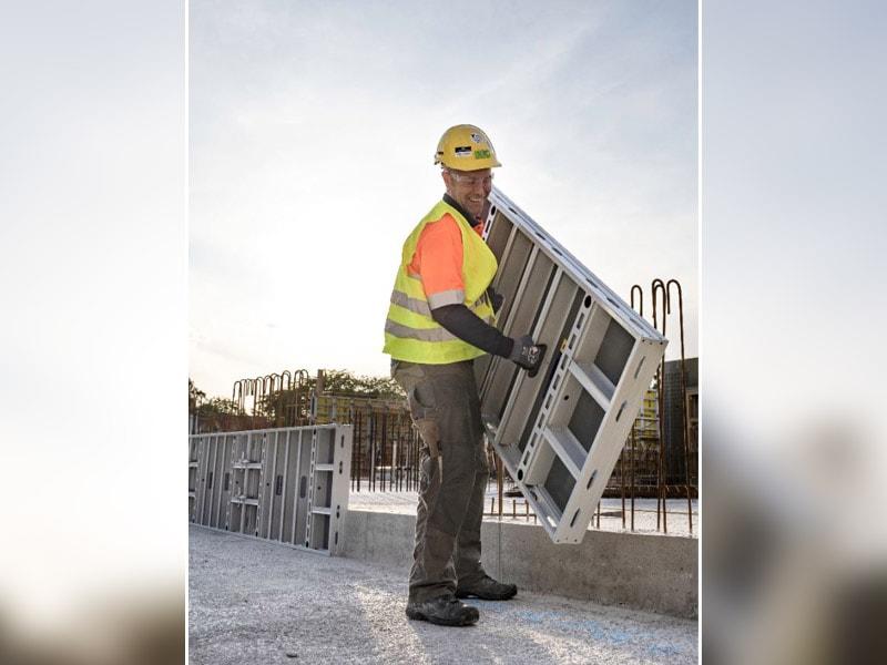 DOKAXLIGHT, le nouveau coffrage-cadre en aluminium se distingue par sa légèreté - Batiweb