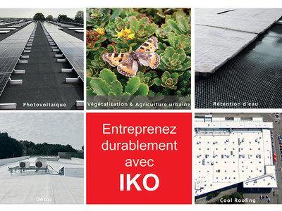 Les toits durables par IKO Batiweb