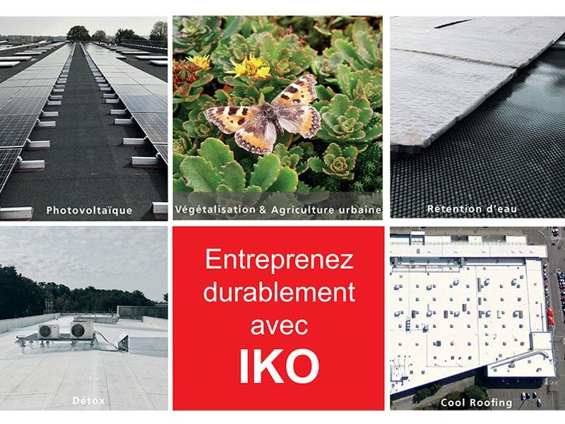 Les toits durables par IKO - Batiweb