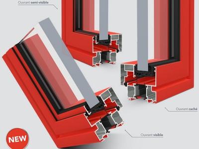 KAPTIV®, la nouvelle solution modulable de fenêtres en 72 mm Batiweb
