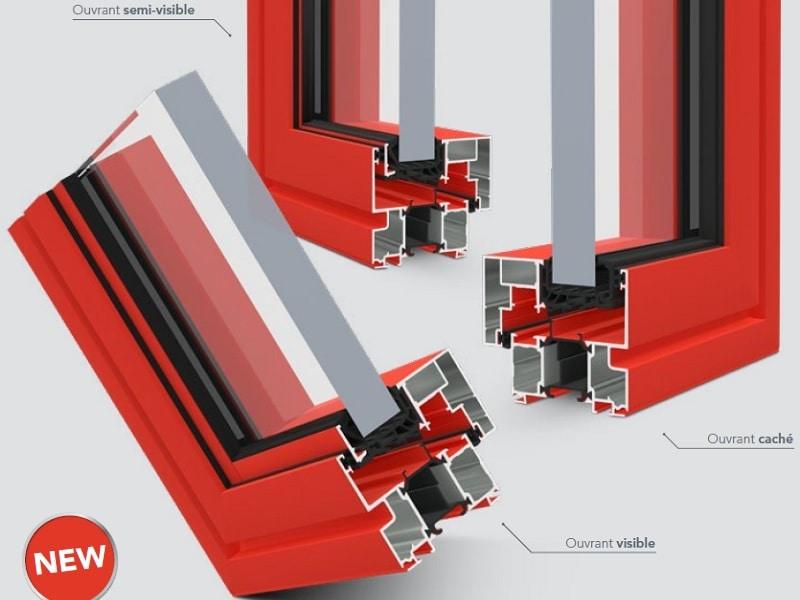 KAPTIV®, la nouvelle solution modulable de fenêtres en 72 mm - Batiweb