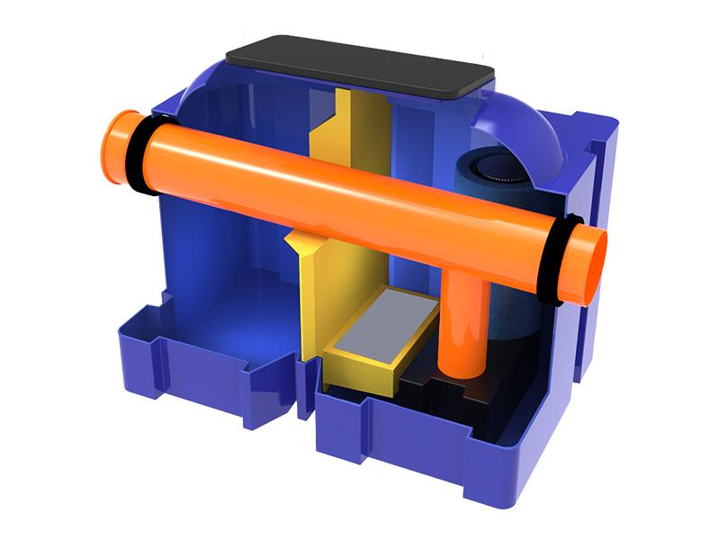 NOUVEAUTÉ SEBICO 2020 : Le séparateur d'hydrocarbures hybride permet un traitement exceptionnel de l'effluent et en fait le séparateur le plus performant du marché. - Batiweb