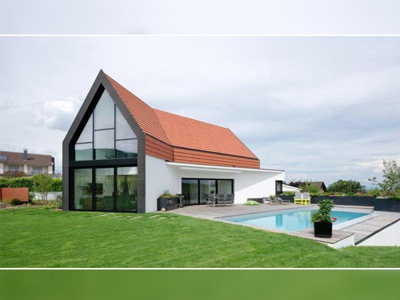 En Alsace, une réalisation moderne dans le respect des traditions architecturales - Batiweb