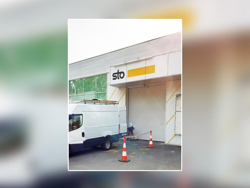 Sto France lance son Drive-in à destination de ses clients - Batiweb