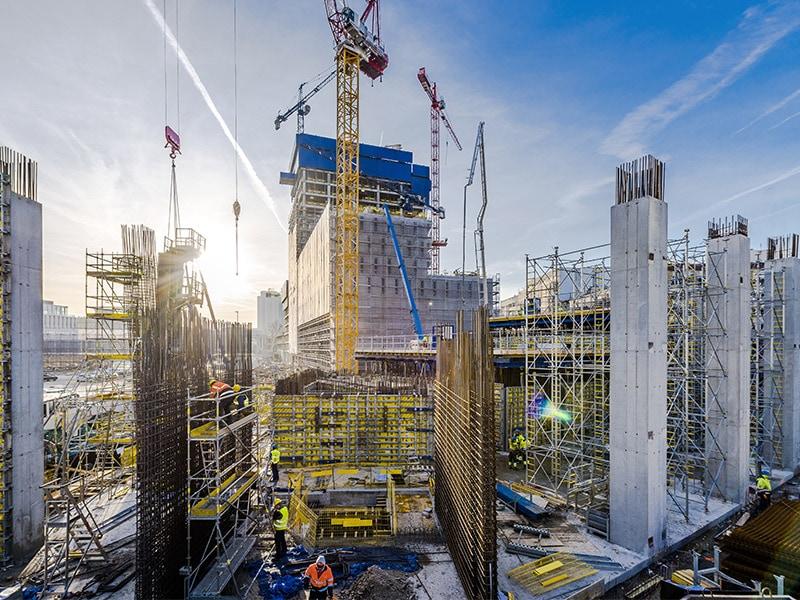 310 mètres au-dessus de Varsovie – La Tour Varso : La construction du plus grand bâtiment de Pologne - Batiweb