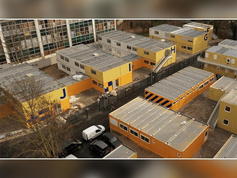 Un centre d'hébergement de 5000 m² en bâtiment modulaire reconditionné - Batiweb
