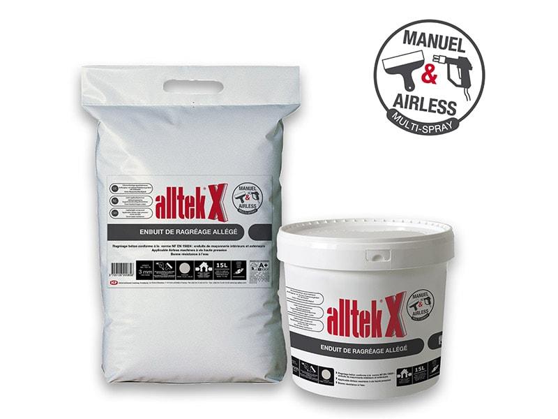 Qualité et confort sur tous vos chantiers avec Alltek X, l'enduit de ragréage allégé - Batiweb