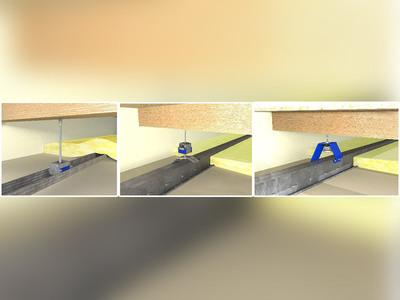 Nouvelle gamme de suspentes acoustiques : des solutions 2 en 1 pour le confort phonique et la sécurité incendie de tous les bâtiments Batiweb