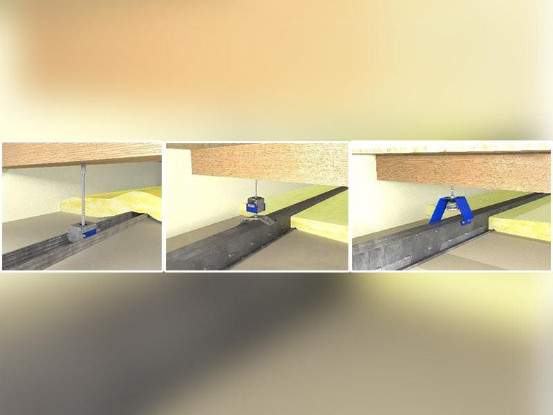 Nouvelle gamme de suspentes acoustiques : des solutions 2 en 1 pour le confort phonique et la sécurité incendie de tous les bâtiments - Batiweb