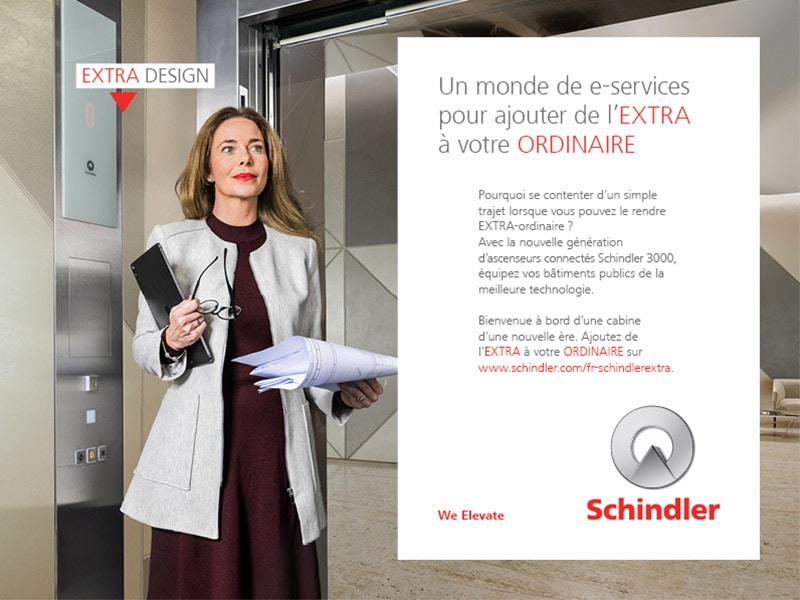 Schindler EXTRA: Découvrez le Schindler 3000, l'ascenseur d'une nouvelle ère ! - Batiweb