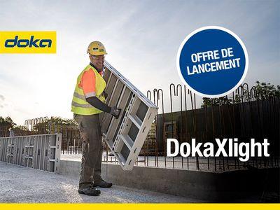 Léger, robuste et très facile d'utilisation, découvrez le nouveau coffrage-cadre manuportable en aluminium : DokaXlight Batiweb