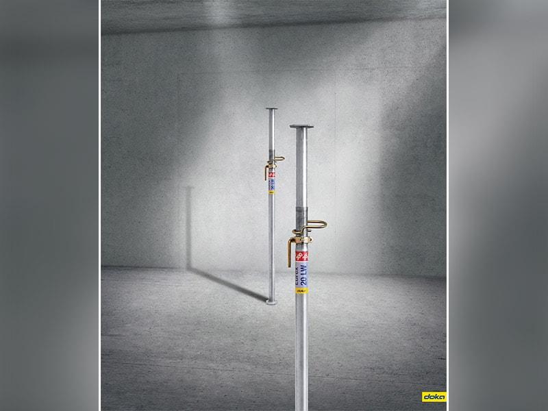 Eurex 20 LW, Le poids plume des étais - Batiweb
