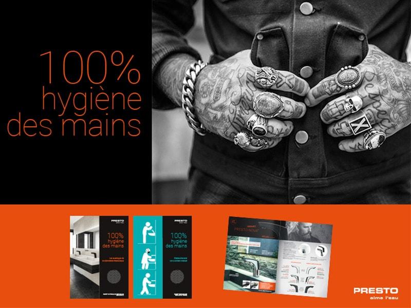 Sécuriser vos sanitaires / 100% Hygiène des mains - Batiweb