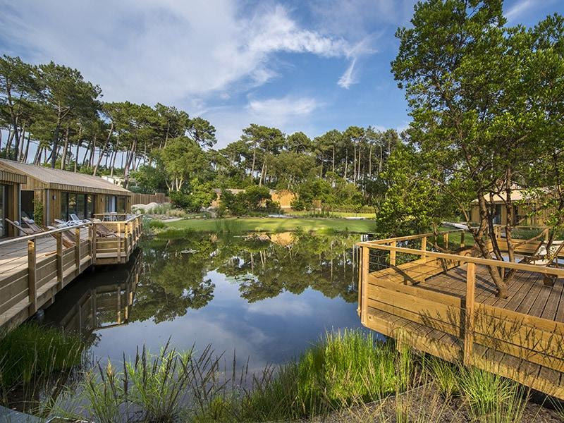 Un espace spa & bien-être connecté à la nature au coeur des Landes - Batiweb