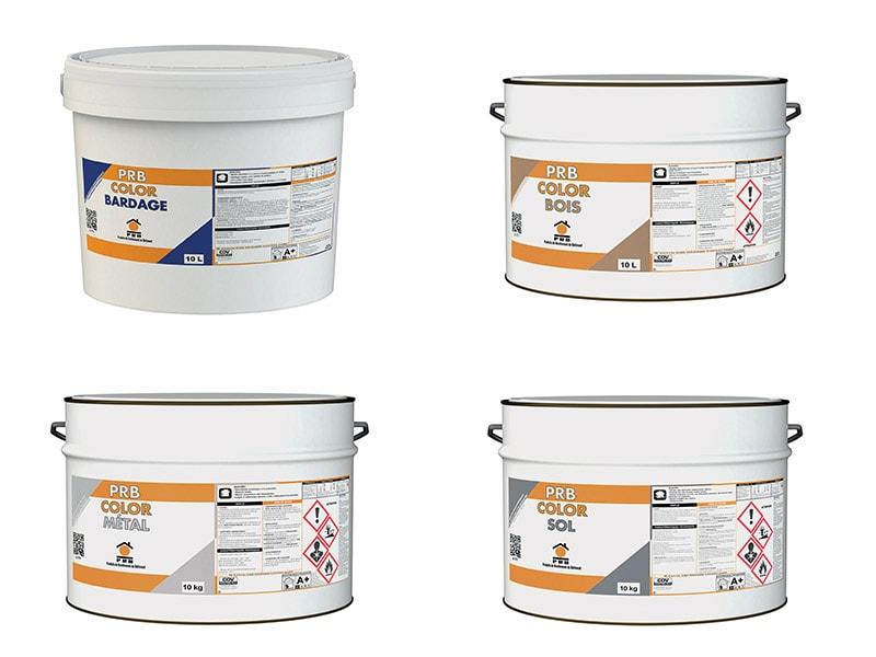 PRB étend sa gamme peinture avec la sortie de 4 peintures de spécialité - Batiweb