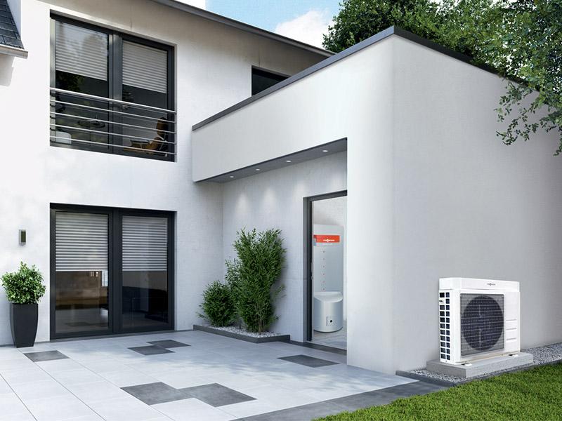 Vitocal 100-A: une solution innovante pour vos travaux de rénovation - Batiweb