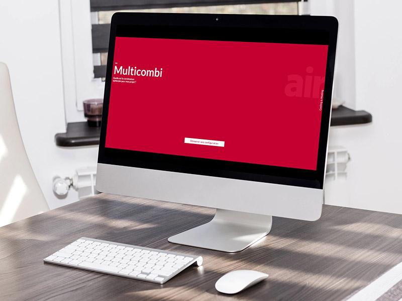 Hitachi lance un nouvel outil de sélection en ligne « Multicombi » : une appli dédiée aux professionnels sur les gammes Multi-splits & Triple C R32 - Batiweb