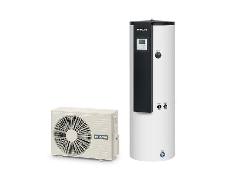 Hitachi lance le 1er chauffe-eau thermodynamique du marché au R32 - Batiweb