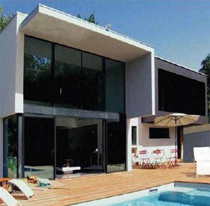 « Villa Carnet » Basse Consommation, Thonon (74). Système StoTherm Classic. Réalisation : Daragon Cheysson Architecture, Thonon (74)