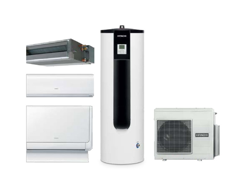 Hitachi présente sa solution exclusive Triple C R32 : Le 1er chauffe-eau thermodynamique multi-splits R32 du marché - Batiweb