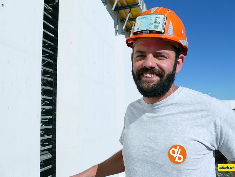 Baptiste Mazuir, Chef de chantier