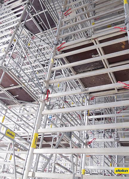 La tour Excellence permet de gagner en sécurité et en productivité