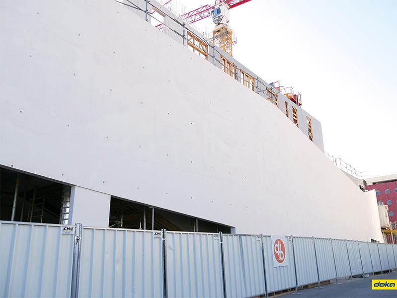 Le conservatoire d'Antibes, un bâtiment de plus de 3000 m²