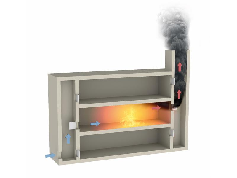 Des plaques coupe-feu 2 heures pour le montage de vos conduits de désenfumage et de ventilation - Batiweb