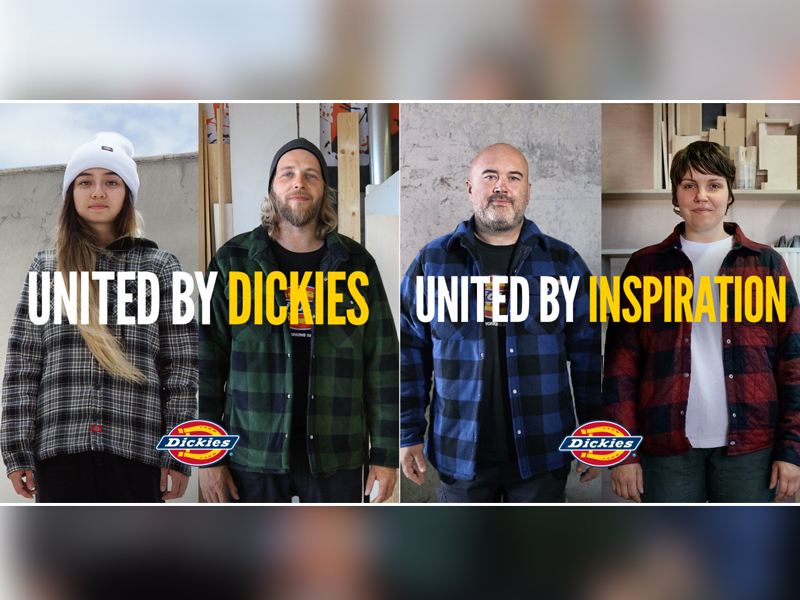 "Dickies® lance sa campagne marketing mondiale ""United by Inspiration"" - Batiweb"