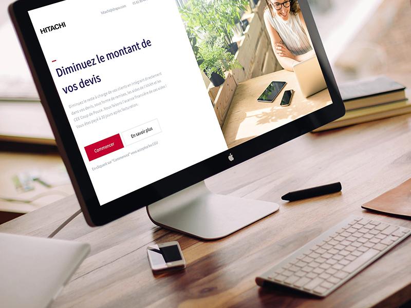 Le nouveau simulateur lancé par Hitachi intègre directement les aides financières au sein des propositions commerciales des professionnels - Batiweb