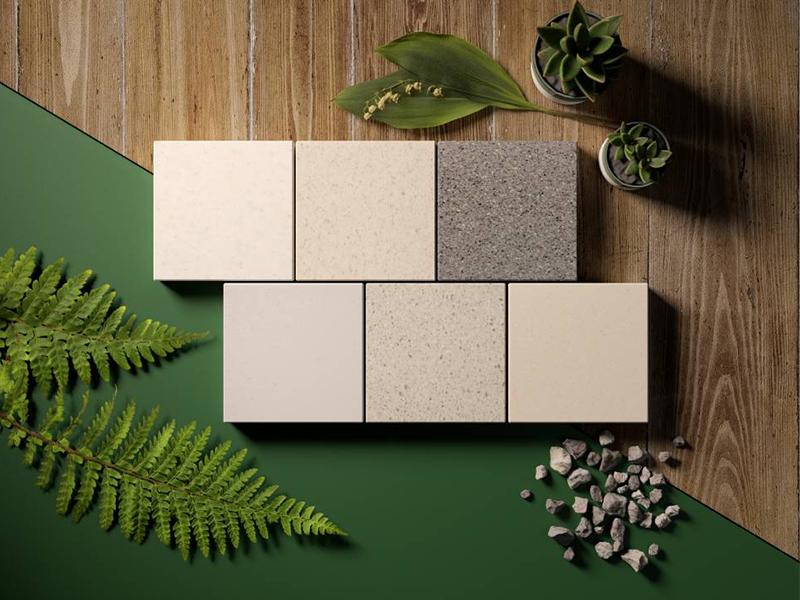 HI-MACS® se focalise sur l'écologie avec de nouvelles couleurs recyclées - Batiweb