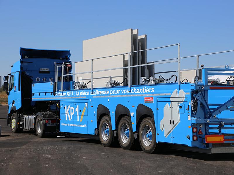 KP1 signe un partenariat exclusif avec Hoffmann Green Cement Technologies pour des systèmes préfabriqués en béton décarboné - Batiweb