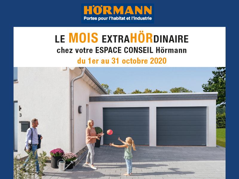 Portes de garage Hörmann: Le mois ExtraHÖRdinaire! - Batiweb